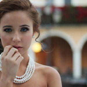 Woman Model Portrait Attractive Cute Jewelry